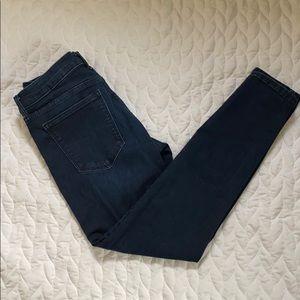 Banana Republic Dark Blue Skinny Jeans Sz 27